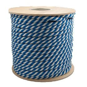 SGT KNOTS MFP Solid Braid Rope (Derby Rope) - 1/2 inch or 5/8 inch x 100 feet - 18 Colors