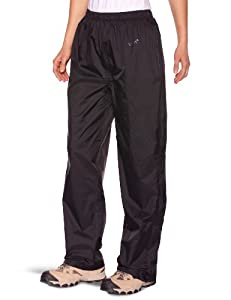 Gelert Women's Rainpod Overtrouser - Pure Black, Size 16