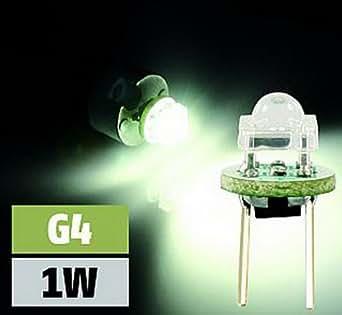 LED-Stiftsockellampe, G4, 1 LED, warmweiß
