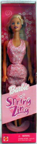 Spring Zing Barbie Fashion Doll - 1