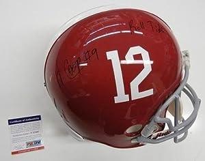 Amari Cooper Signed Alabama Crimson Tide Full Size Helmet Psa dna Coa by Sports+Memorabilia