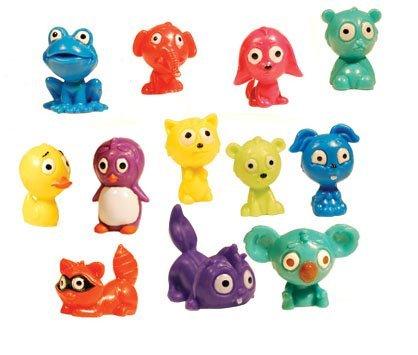 Mini Malz Tiny Animal Figures - Lot of 20 (Plastic Vending Machine compare prices)