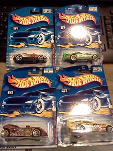 Hot Wheels 2001 Extreme Sports Series Complete Set of 4