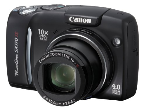 Canon PowerShot SX110 IS is one of the Best Digital Cameras Overall Under $250