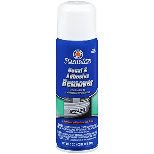 Permatex 80025 Decal And Adhesive Remover 5 Oz