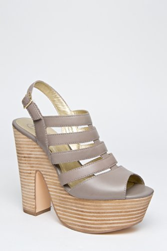 Haven't Got A Worry Platform High Heel Sandal