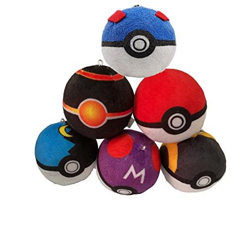 6pcs-pokemon-pikachu-pokeball-cosplay-master-poke-ball-plush-toy-pendant-8cm-new
