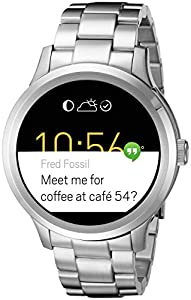 Fossil Q Founder Silver Touchscreen Smartwatch