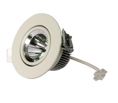 Landivi Ldv-Dln2057 3 W 2.5Inch Cob Led Downlight Ceiling Light, 350Lm Cri 80,Ip 20 Waterproof Indoor Commercial Lighting