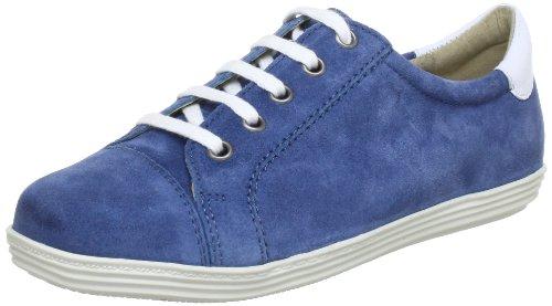 Caprice 9-9-23653-20, Scarpe stringate basse donna, Blu (Blau (JEANS S./WHITE)), 38