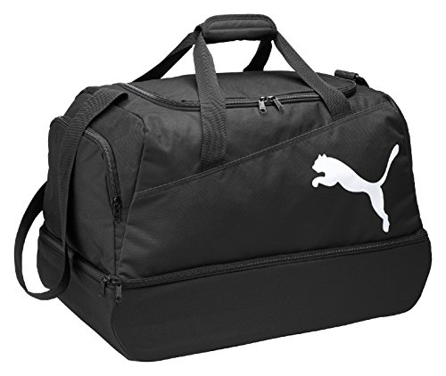Puma Borsa sportiva da calcio Pro Training, Nero/Bianco (black-black-white)
