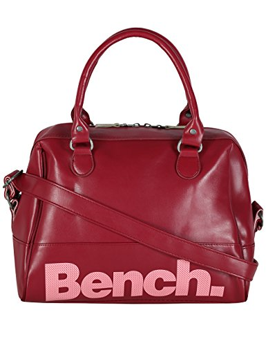 Bench-Borsa a mano Bowling, Donna, Bowling Handbag, Zinfandel