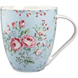 Cath Kidston Chelsea Crush Mug, Fine China, Blue