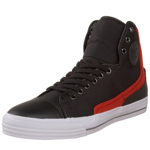 PF Flyers Men's Glide Shoe,Black,4 M US Men's / 5.5 M US Women's