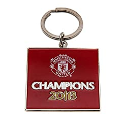 Manchester United F.C. Keyring Champions
