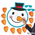 Pin the NOSE on the SNOWMAN Christmas HOLIDAY Party Game with BLINDFOLD & INSTRUCTIONS from OTC