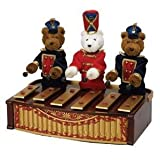 Christmas music boxes   Gold Label Mr Christmas Bandstand Bears Musicbox