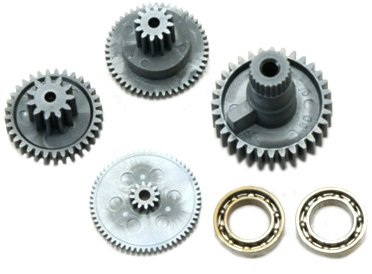 Hitec 55005 Gear Set HS-5975HB - 1