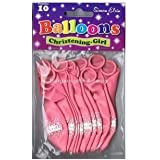 Simon Elvin 10 X Baby Christening Pink Balloons Party Decorations Girl Christening (Se)