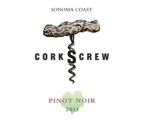2011 Corkscrew Sonoma Coast Pinot Noir 750 Ml