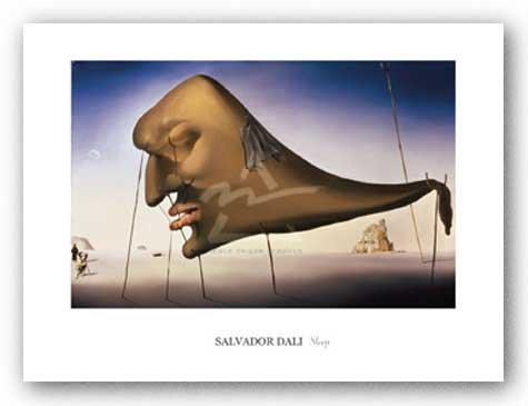 Sleep de Salvador Dali Tirages d'Art Poster