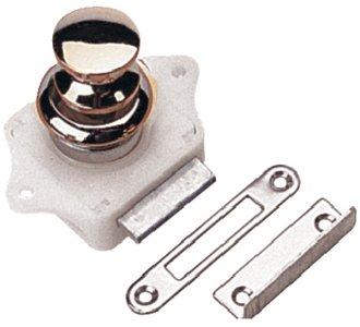 Sea Dog 224300-1 Push-Button Rim Latch, Chrome front-328101