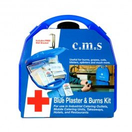 CMS M2 Blue Plaster and Burns First Aid Kit