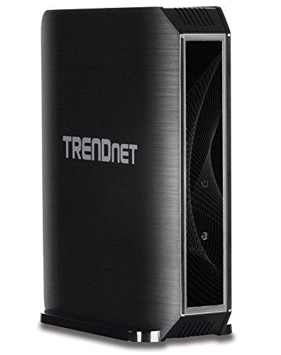 TRENDnet TEW-823DRU Dual Band Routeur Wi-Fi Noir