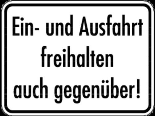 plaque-et-ausfahrt-freihalten-a-vis-aluminium-300-x-400-mm