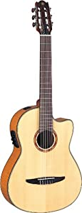 Yamaha NCX900FM Acoustic Electric Classical Guitar, Flamed Maple Top