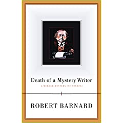 Death Of A Mystery Writer, Barnard, Robert