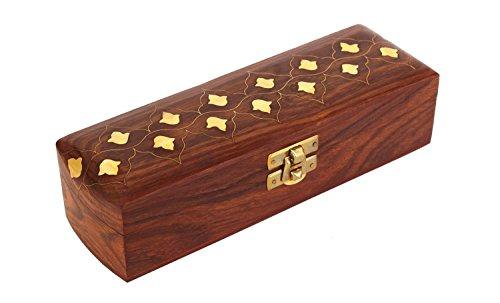 Handcrafted Wooden Watch/Jewelry Holder Keepsake Case Box