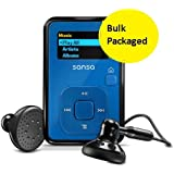 Sandisk Sansa Clip+ 8GB MP3 Player, microSD/SDHC Slot, Voice Recorder, FM Radio, BLUE - BRAND NEW - BULK PACKAGED