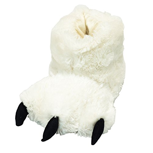 Polar Bear Paw Kid Slippers by Lazy One