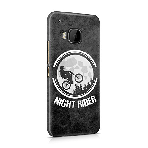 Moon Night Rider Hard Plastic Case Cover For HTC One M9