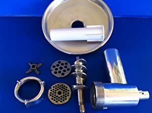 Meat Grinder Attachment for Hobart N50 & C100 Mixer + sausage stuffing tube