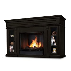 Real Flame Lannon Ventless Gel Fireplace Gel Fuel Fireplaces