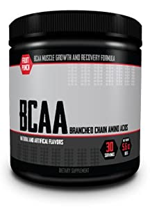 100% Pure BCAA Powder - Muscle Growth & Recovery Formula - Branch Chain Amino Acids 2:1:1 Instantized Powder (1)