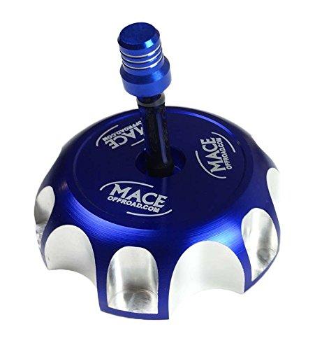 BLUE BILLET CNC FUEL GAS CAP FITS RAPTOR 660 BANSHEE 350 WARRIOR BLASTER 200 TTR YFZ 450/R SUZUKI LTR DRZ (Yfz 450 Gas Cap Vent Hose compare prices)