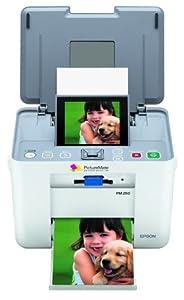 Epson PictureMate Dash PM260 Compact Photo Inkjet Printer (C11C694201)