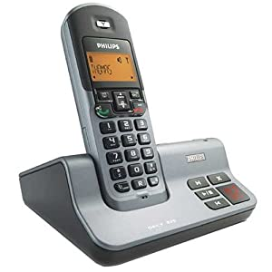 ilips 6.0 Dect Cordless Phone with Answering M