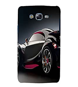 printtech Superfast Car Back Case Cover for Samsung Galaxy Grand 3 G720 / Samsung Galaxy Grand Max G720