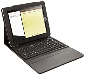 Protective Slim Lined leather Case For the ipad With keyboard built-in