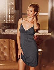 Rosie for Autograph Luxurious Jersey Chemise with Removable Cups