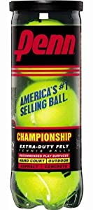 Penn Championship XD Tennis Balls (Single Can/3 Balls)