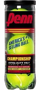 Penn Championship XD Tennis Balls (Single Can/3 Balls)