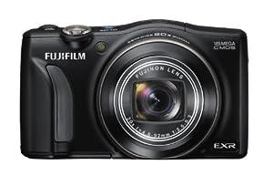 "FUJIFILM Digital Camera FinePix F800EXR (Black) 16MP EXR-CMOS Wide angle24mmOptical Zoom20""{ F FX-F800EXR B (Japan Imported) (Japan Imported)"