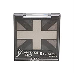 Rimmel Glam Eyes HD Quad Eye Shadow Palette, Black Cab, .14 oz