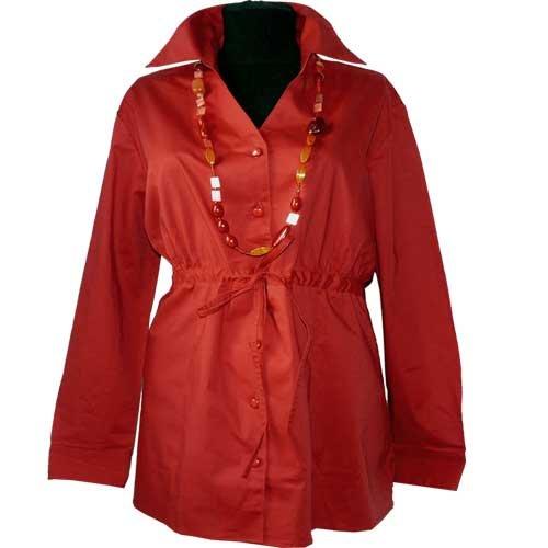 adonia mode Topmodische Stretch-Bluse Babydoll Empire , Gr. 44 – 54 jetzt bestellen