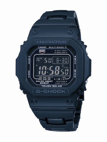 G-Shock Men's Quartz Watch with Black Dial Digital Display and Black Bracelet strap  GW-M5610BC-1ER